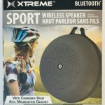 Sport Bluetooth Speaker w/ Carabiner Hook