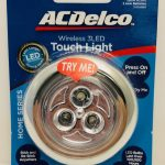 AC Delco 3 LED Touch Light
