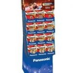 Panasonic Alkaline Battery Display