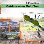 9 Function Outdoorsman Multi Tool