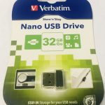 32 GB USB Nano Drive