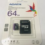 64 GB Micro SD Memory Card