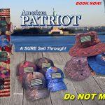 American Patriot Camo Hat Display