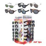 Polarized Sunglasses Display