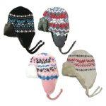 Knit Print Trooper Hats