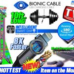 10 Foot Bionic Charging Cable Display