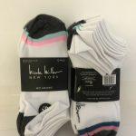 Nicole Miller Ladies No-Show Socks