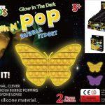 Glow in the Dark Bubble Fidget Popper